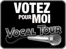 Votez pour Stephanie Gaspard au VOCAL TOUR